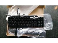 Dell SK-8135 Multimedia USB HUB Computer Keyboard-New