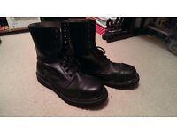 "Men's leather Brandit Boot ""Gladiator 10 Hole"" [Size 11]"