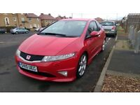 Honda Civic Typer R, 2010 reg. FSH, 12 months MOT, 50k reasonable mileage