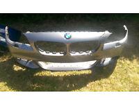 BMW 5 SERIES F10 F11 M SPORT GENUINE FRONT BUMPER 2010 - 2013,2014-2017