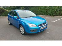 2005 FORD FOCUS 1.6 GHIA 115 BHP, SERVICE HISTORY, DRIVES WELL.