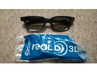 3D glasses immaculate condition