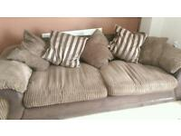 Sofa and swirling chair for sale