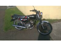 KAWASAKI KH 100ex,Classic Two Stroke,nice original condition.