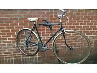 Men's Vintage City Bike 5 speeds Brand New Tyre