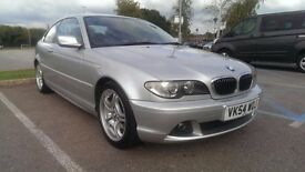 2004/54 BMW 325ci Sport, Silver, Manual, Facelift E46, Full Service History, long MOT, nice example