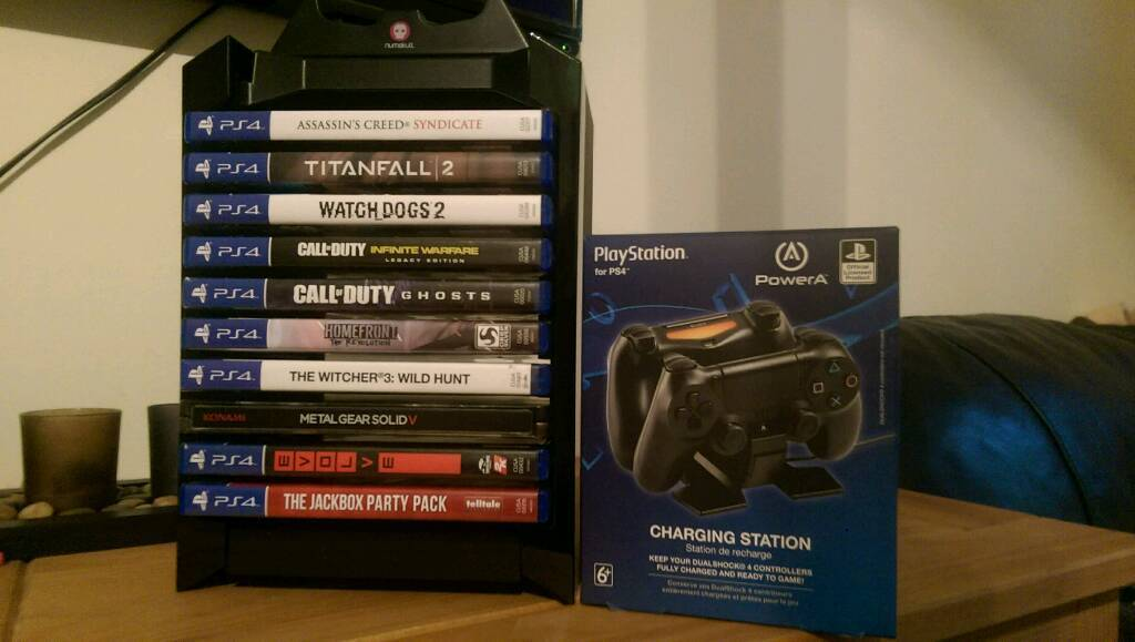 PS4 GAMES AND MORE