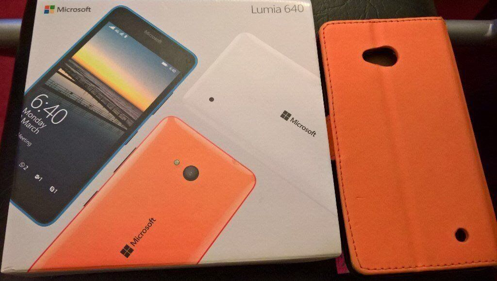 Mint Like New WINDOWS 10 Microsoft Nokia Lumia 640 LTE Unlocked With Boxin Bexleyheath, LondonGumtree - Mint Like New WINDOWS 10 Microsoft Nokia Lumia 640 LTE Unlocked With Box This UNLOCKED WINDOWS 10 phone is my wifes phone and is in mint, like new condition and In perfect working order...shes only selling due to upgrading. This fantastic phone comes...