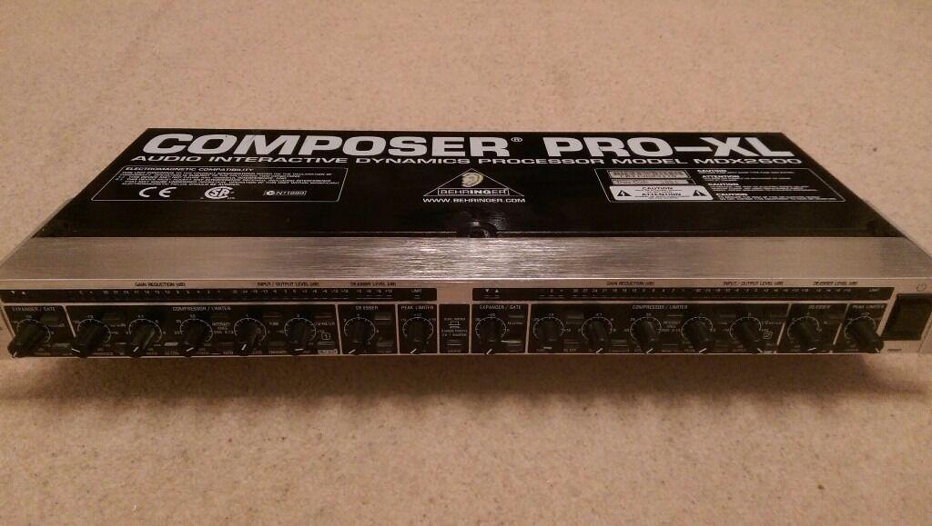 Behringer Compressor Expander Gate Limiter Composer Pro XL *COLLECTION ONLY*