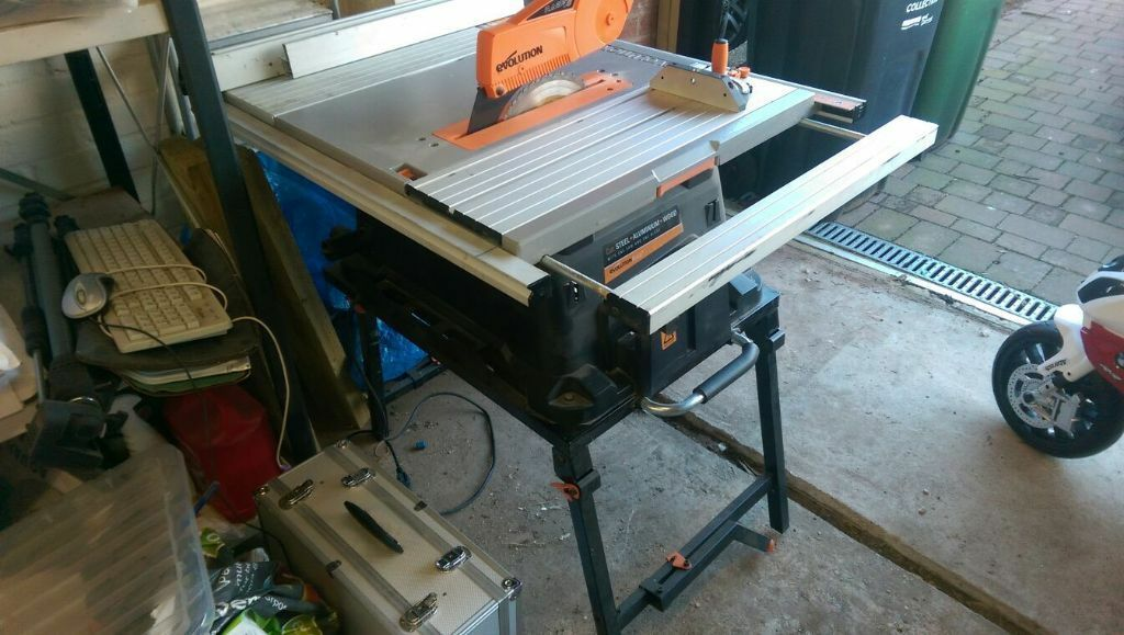 Evolution Rage 5 Bench Saw In Syston Leicestershire