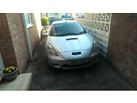 toyota celica 1.8 vvti x reg mot feb 2018 readvertised due to time waster