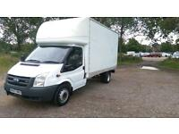 FORD TRANSIT LUTON 2.4 TDCI 57 REG 13ft BODY LWB 6 SPEED DRIVES WELL NO VAT !!!!!!!!!!!