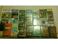 Football Coaching dvds, + 6 Football Coaching Books