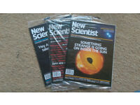 50 x New Scientist Magazines (from 15 October 2016 to 21 October 2017)