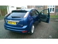 IMMACULATE FORD FOCUS/TITANIUM 5DR/DIESEL/MOT TILL DEC/EXCELLENT INTERIOR/DRIVES PERFECTLY SMOOTH