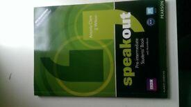 English Speakout Pre-Intermediate Flexi Language Course [Book] and CD