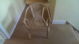 WICKER CHAIR ONLY £5