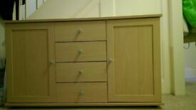 Side board with draws Good condition