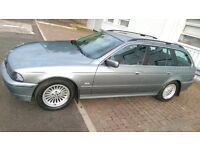 2001 BMW 5 Series 2.5 525d SE Touring 5dr HPI Clear Semi auto, 119000 mileage