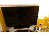 Toshiba 40 inch television, Bush 32 inch television for sale
