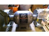 "Bench grinder Performance Power 6"" 150mm 0.5HP 370 Watts, 3000RPM"