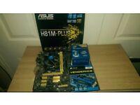 PC BUNDLE - Asus H81M PLUS - Intel G3260 3.3GHz (LGA1150) - Corsair 4 GB DDR3 1600