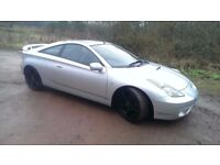 Toyota celica 1.8 vvti Tastefully modified! Sounds and drives and look lovely