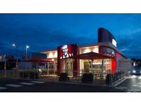 KFC Chelmsford seeking part time and full time team members job vacancy