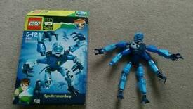 Lego spider monkey Ben 10 alien force