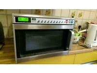 Commercial Microwave Oven Sanyo EMC1901 1900W