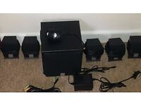 Creative surround sound computer speakers