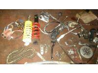 joblot motorbike parts