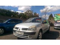 RENAULT CLIO 1.2 LONG MOT CLEAN CAR