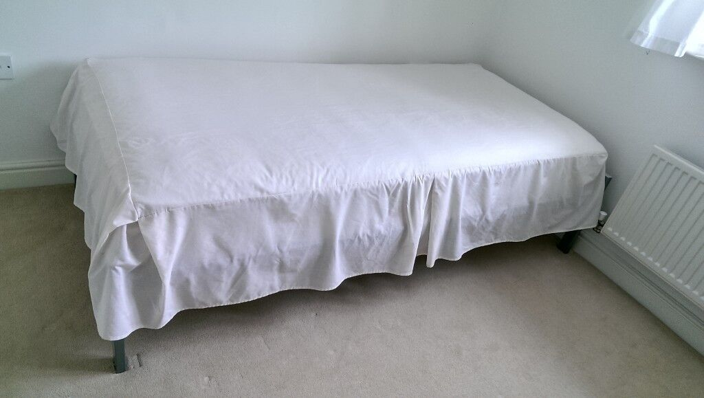 Single Metal Bed Frame (Mattress FREE - used)   in Corby ...