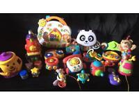 Huge vetech fisher price toy bundle