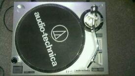 Audio Technica LP120 USB Turntable with Ortofon Concorde Cartridge