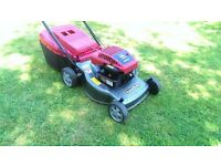 Mountfield Self Drive Petrol Lawnmower SP470 Briggs & Stratton engine, mower just serviced