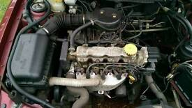 Vauxhall cavalier 1.6 petrol engine and gearbox