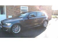 BMW 120d MSPORT £3700 OVNO.... 177bhp.. 57REG.. 6 speed manual.. low mileage.. cheap tax..