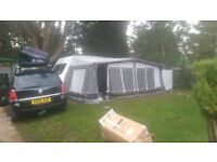 Caravan awning. Camptec Savanna