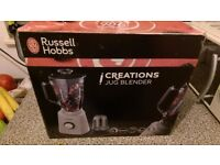 Russel Hobbs Glass Blender 2 in 1 Set