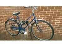 "Vintage BSA Bike 26"" Wheels 3 Sturmey Archers Gears"