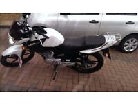 Excellent condition YBR125 for sale