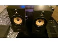 Speakers (B&W DM602)