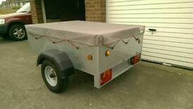 Caddy 535 Trailer + cover