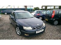 Saab 9-3, 1.9, sport, Diesel, Manual, Blue, 1 year MOT