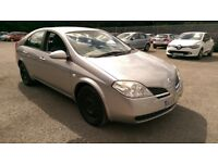Nissan primera 5 door hatch back with full service history.