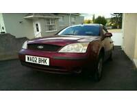 Ford mondeo lx 2002