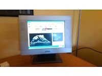 "Proview 14"" LCD monitor with speakers"