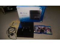 Playstation 4 Console 1TB and games